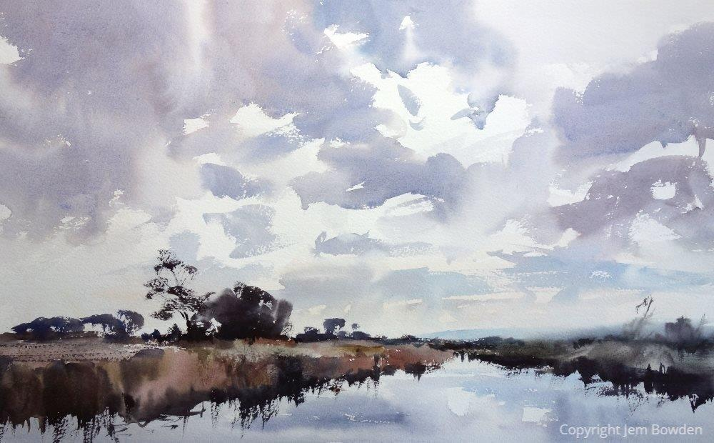 Watercolour by Jem Bowden