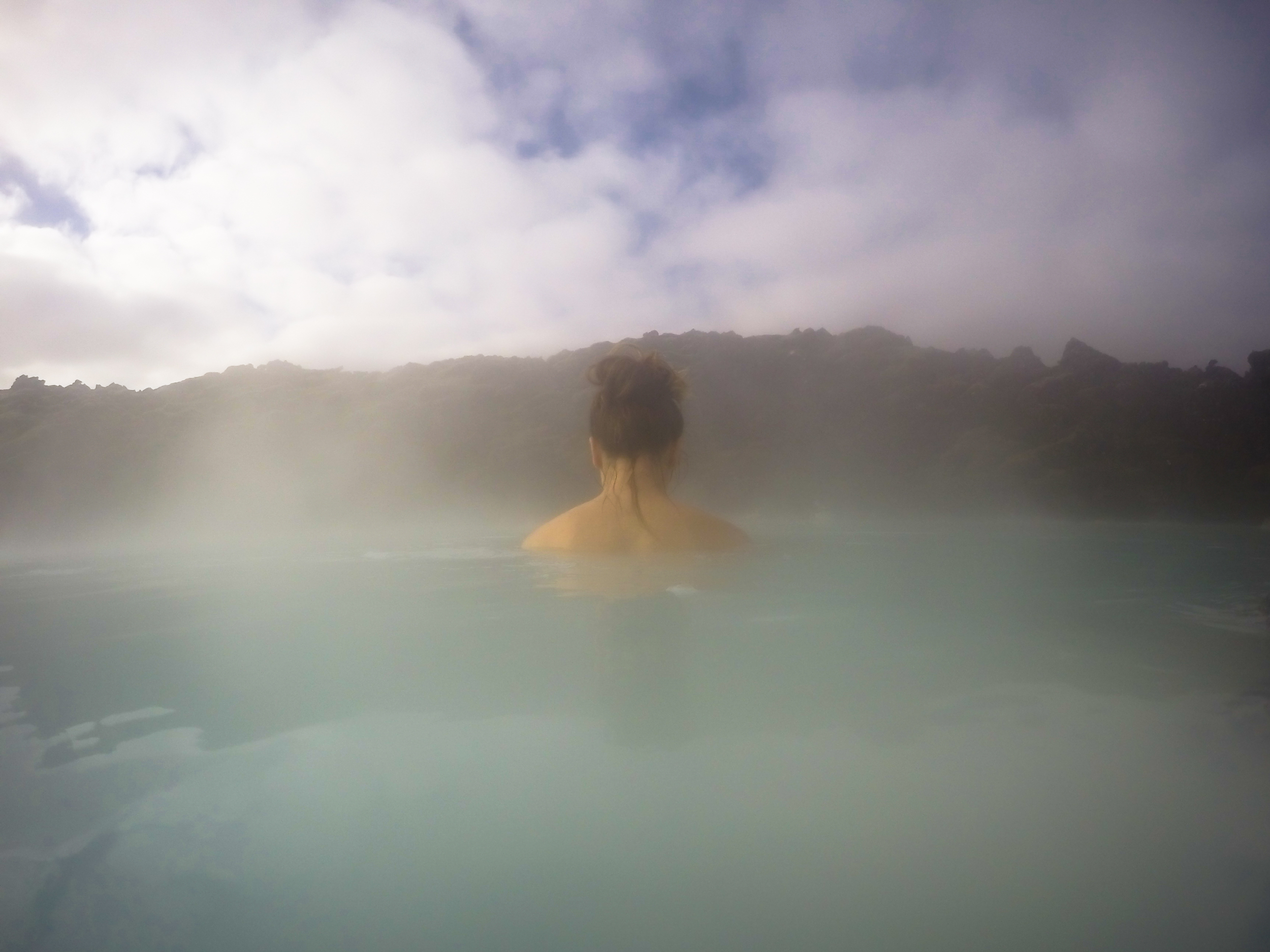 Morning at the Blue Lagoon