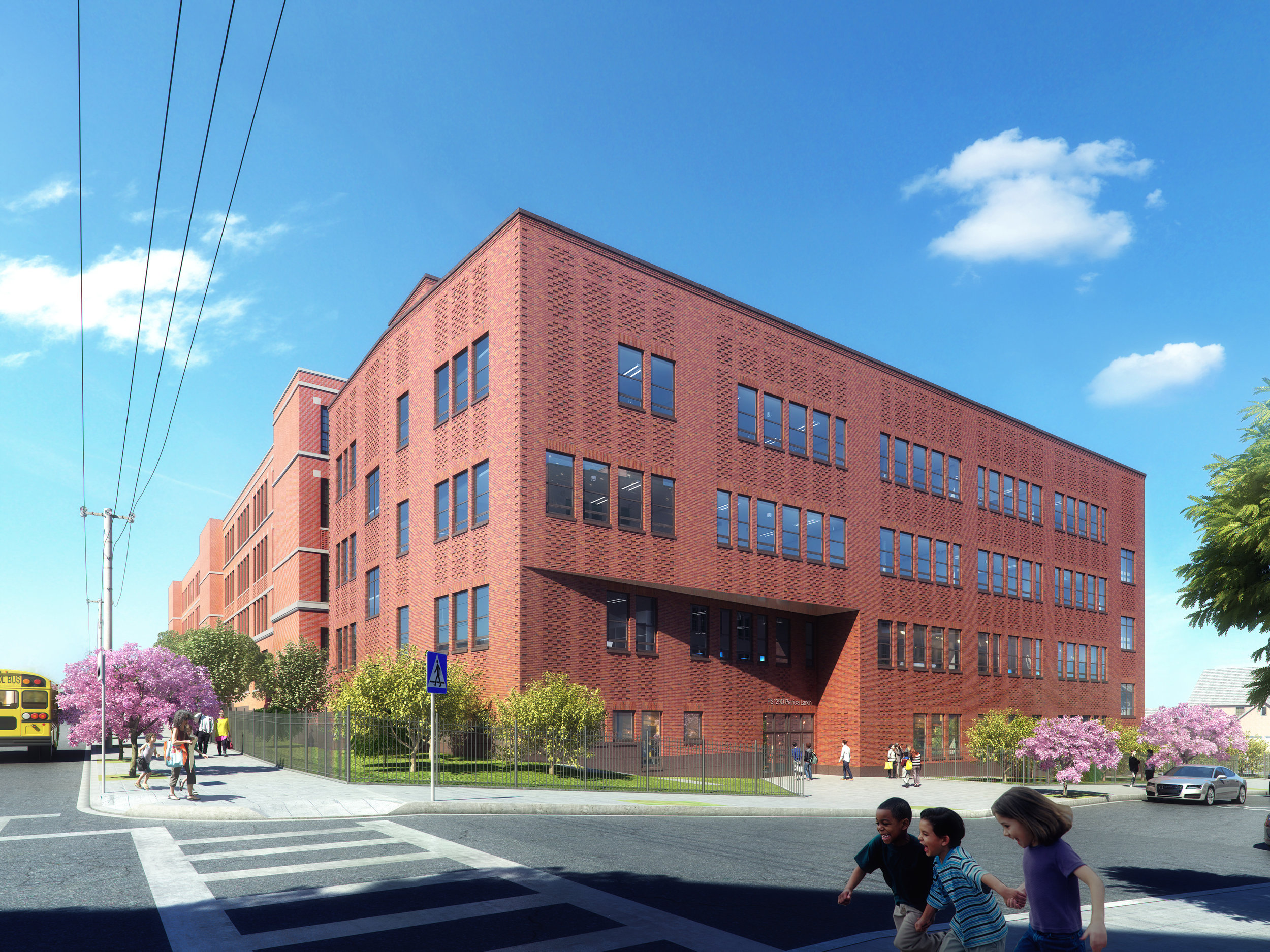 PS129Q New Building Addition