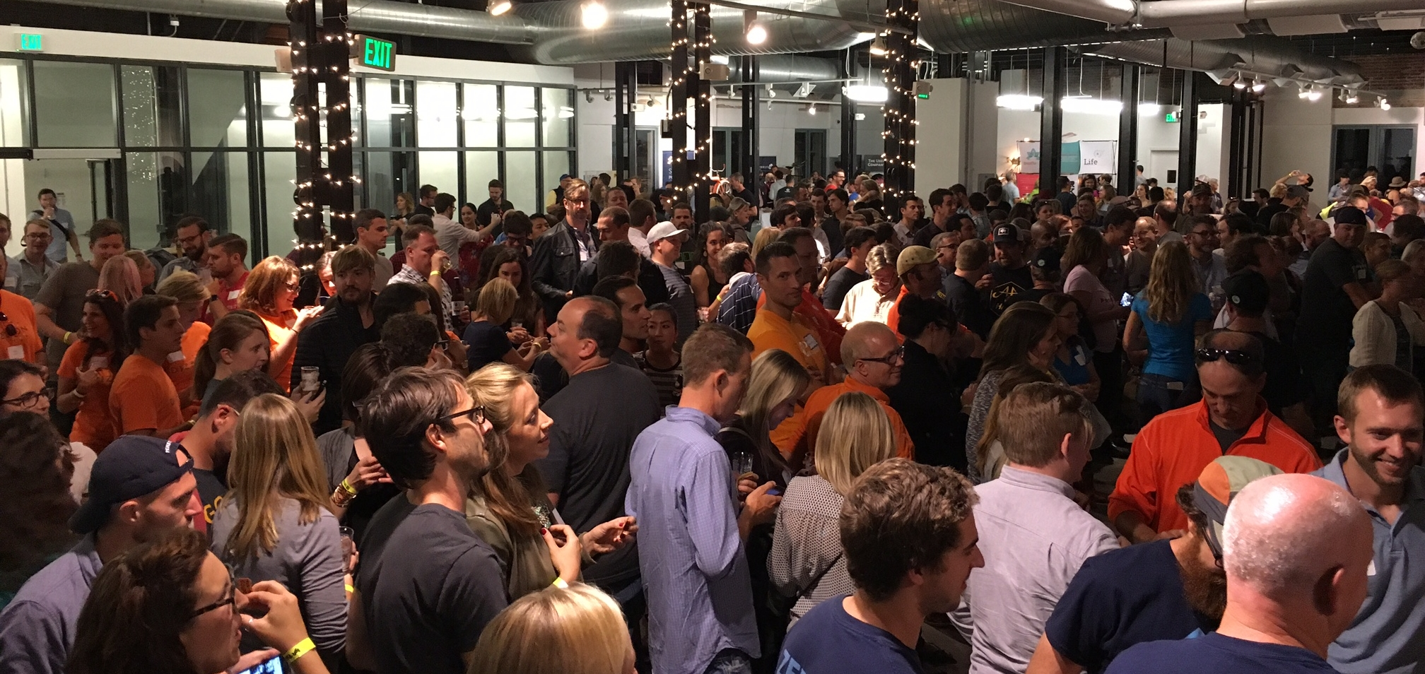 It was a big fun crowd at the Colorado Startup Brews event this year!
