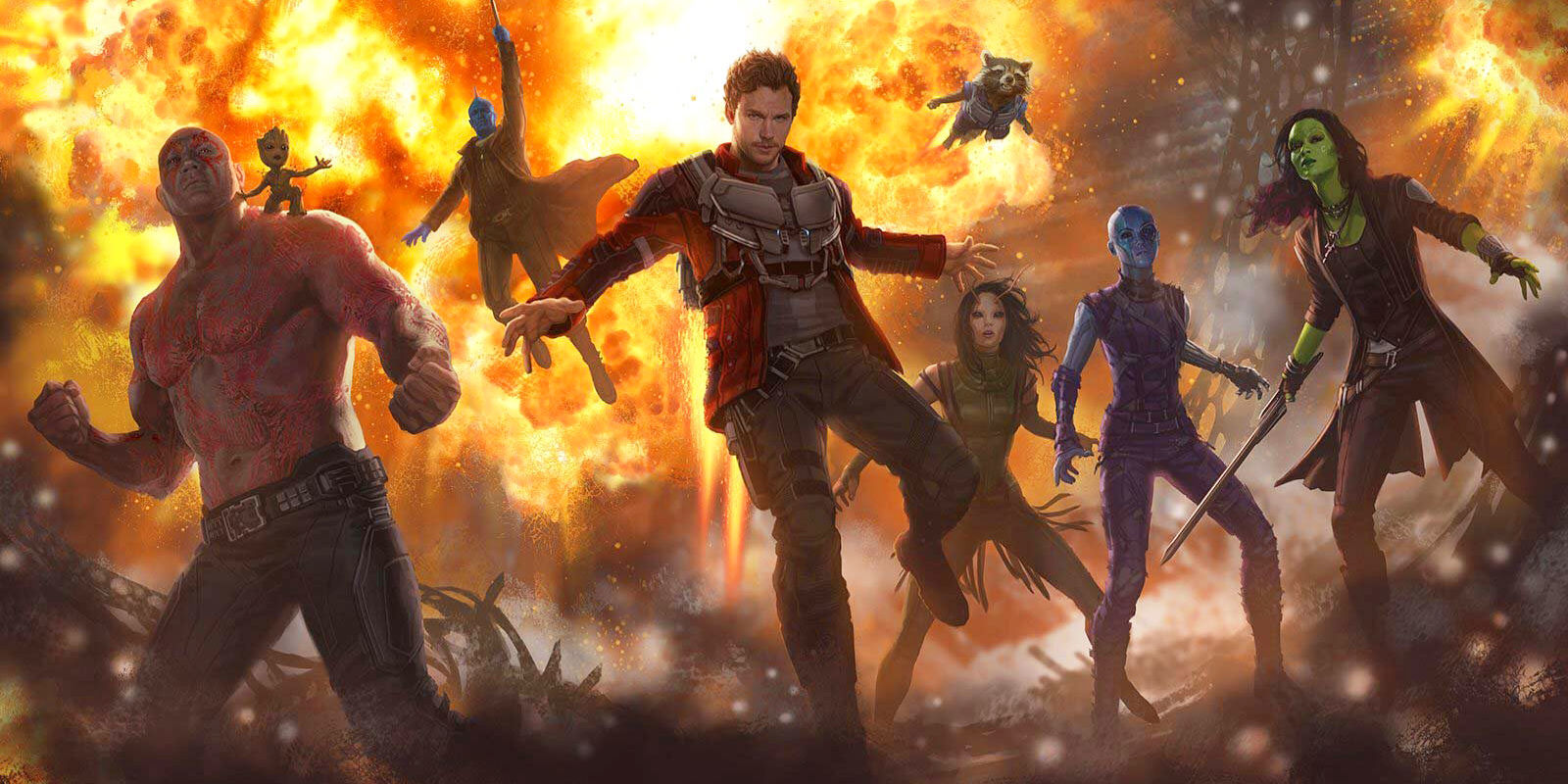 Guardians of the Galaxy Vol. 2 Concept Art