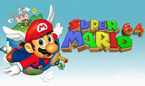 Super Mario 64 Promotional Art
