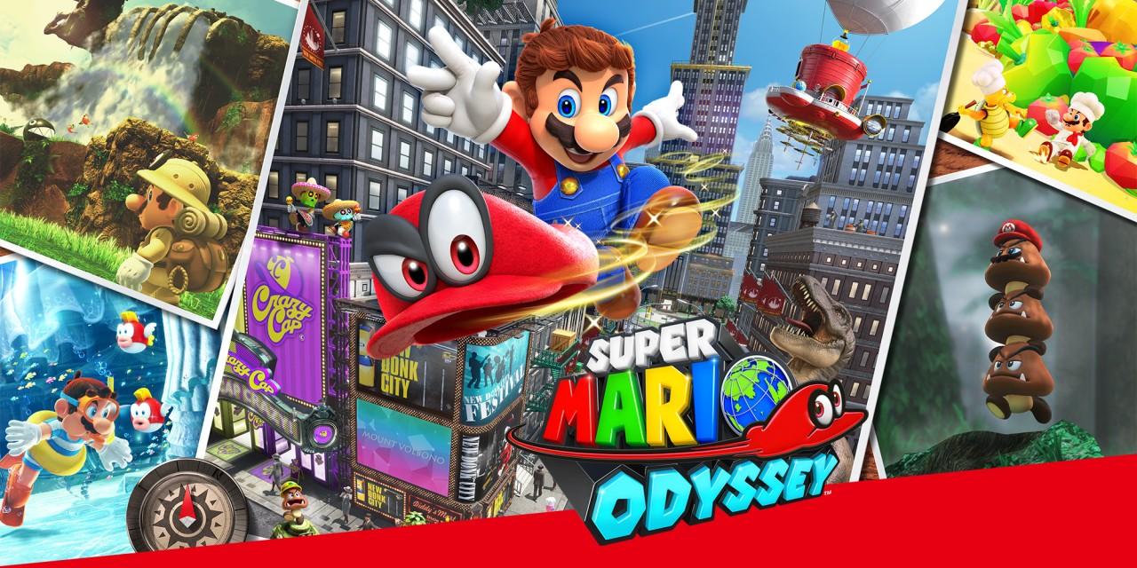 Super Mario Odyssey Cover Art