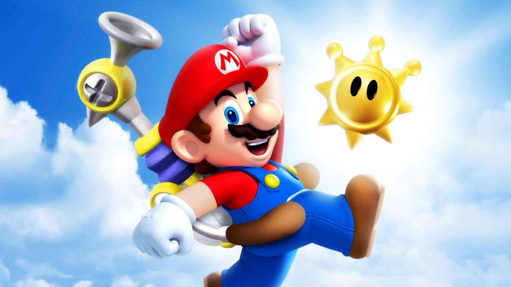 Super Mario Sunshine Promotional Art