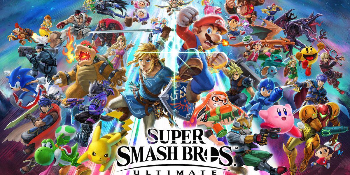 Super Smash Bros. Ultimate Official Art