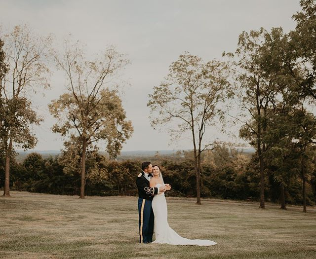 These two incredible humans tied the knot over the weekend! 🖤