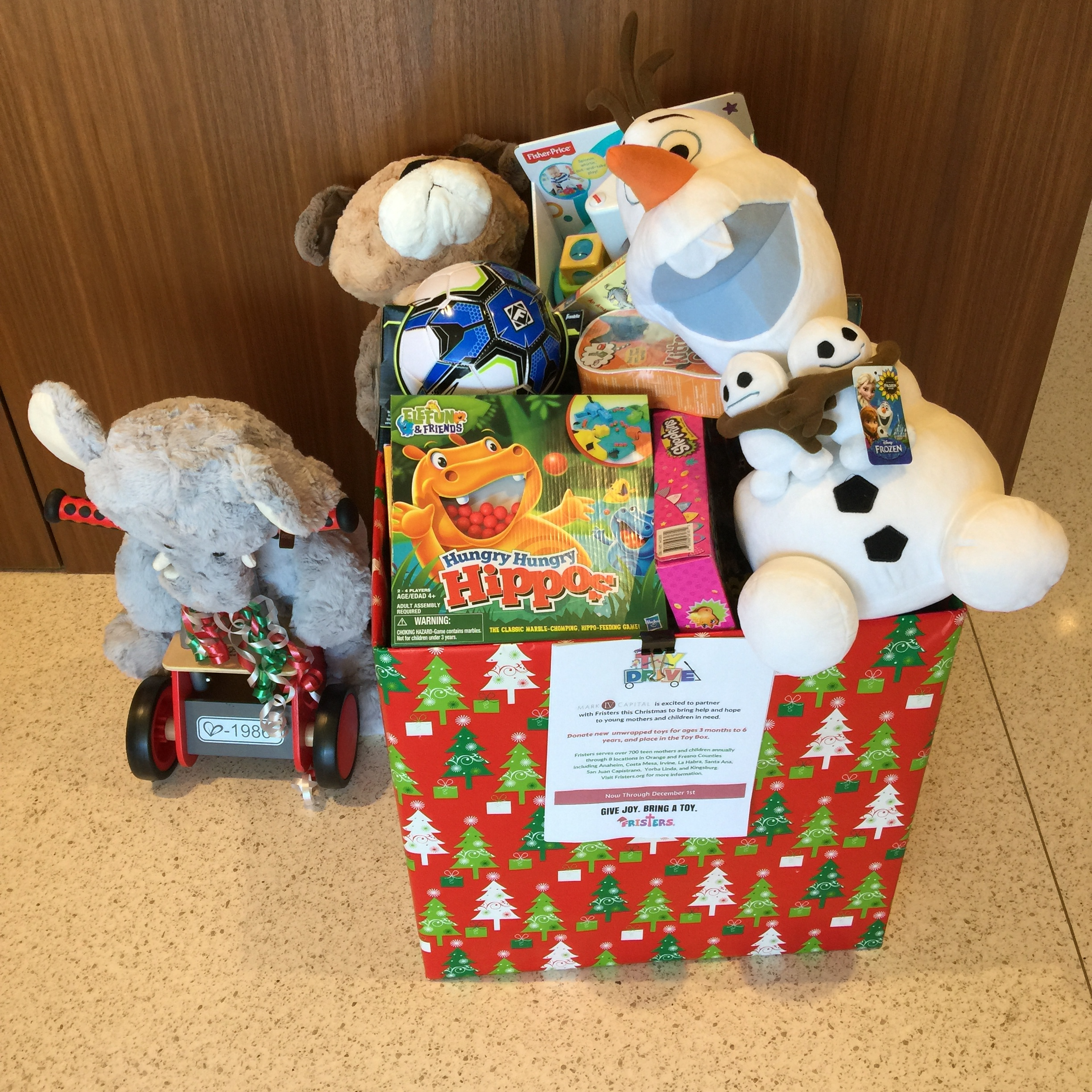 Frister's Annual Toy Drive • 2015