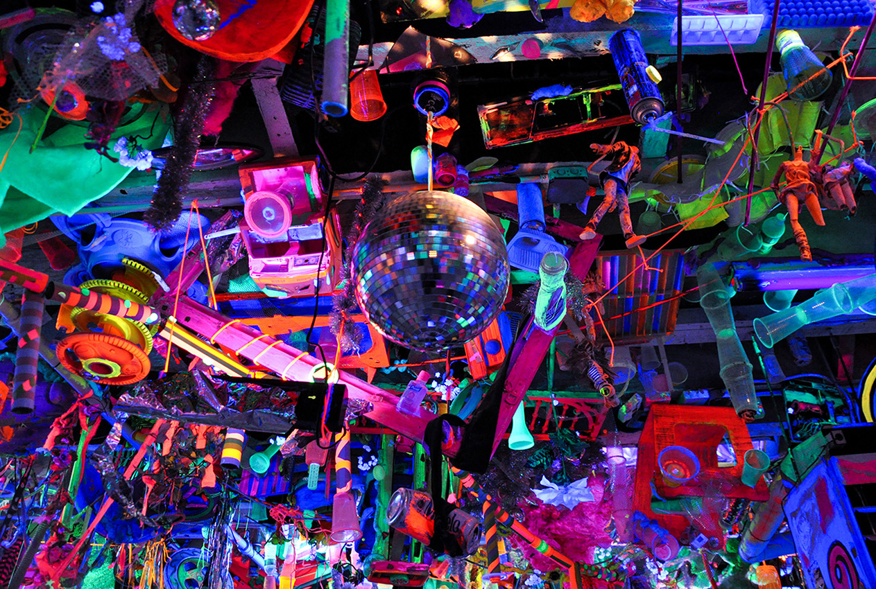 Kenny Scharf Studio Brooklyn 2