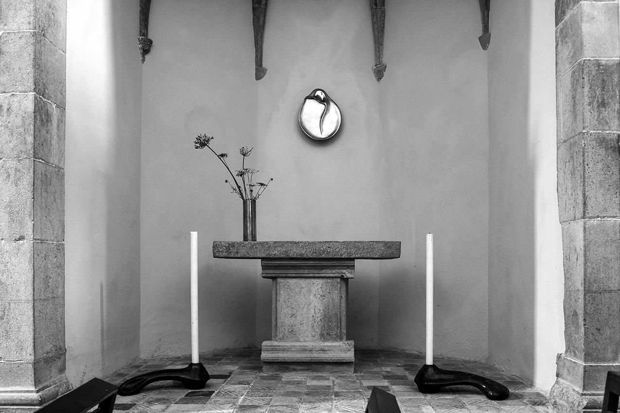 Església de Sant Martí Vell, Spain restored by Elsa Peretti