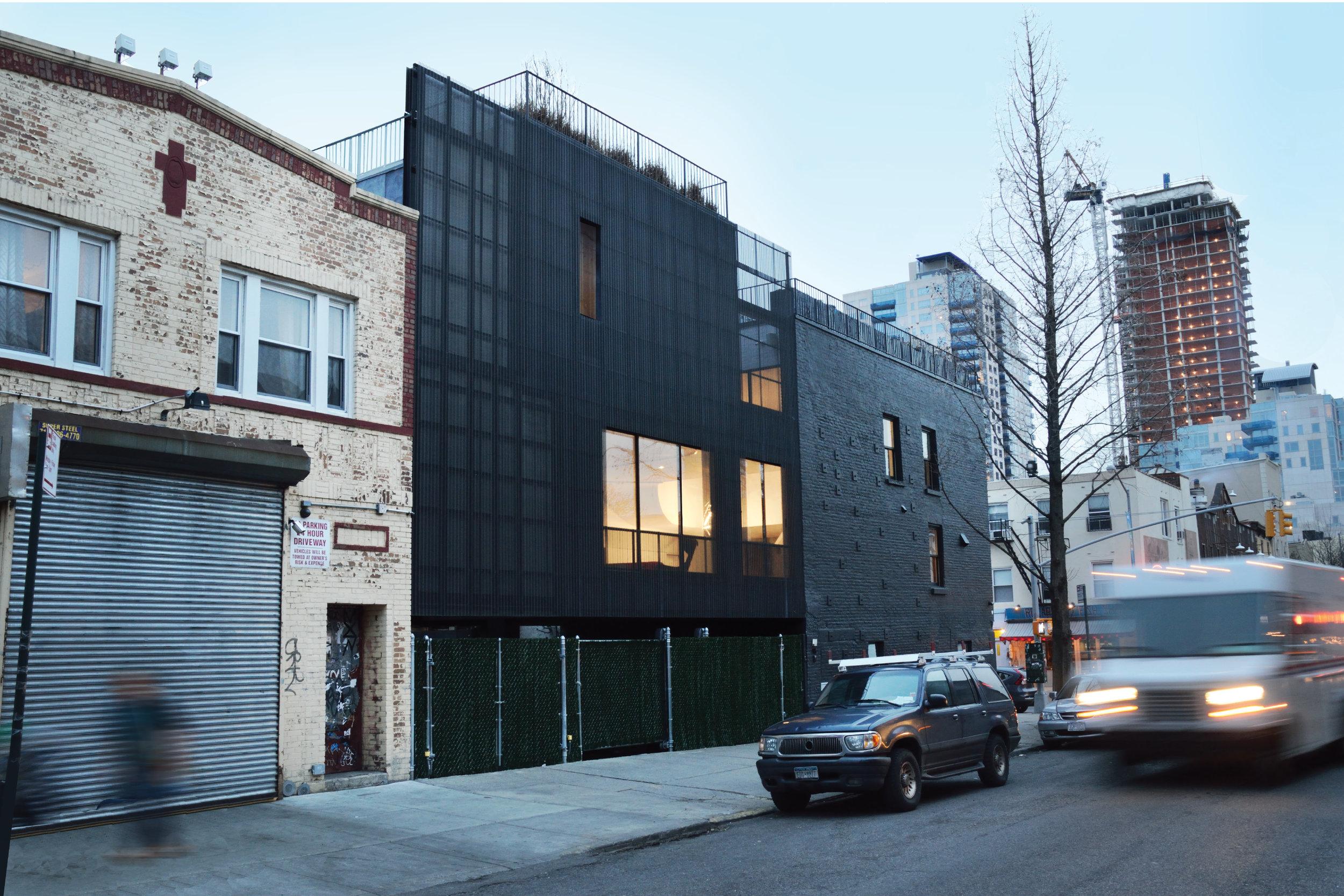 Wythe Corner House (2016)   Brooklyn, New York