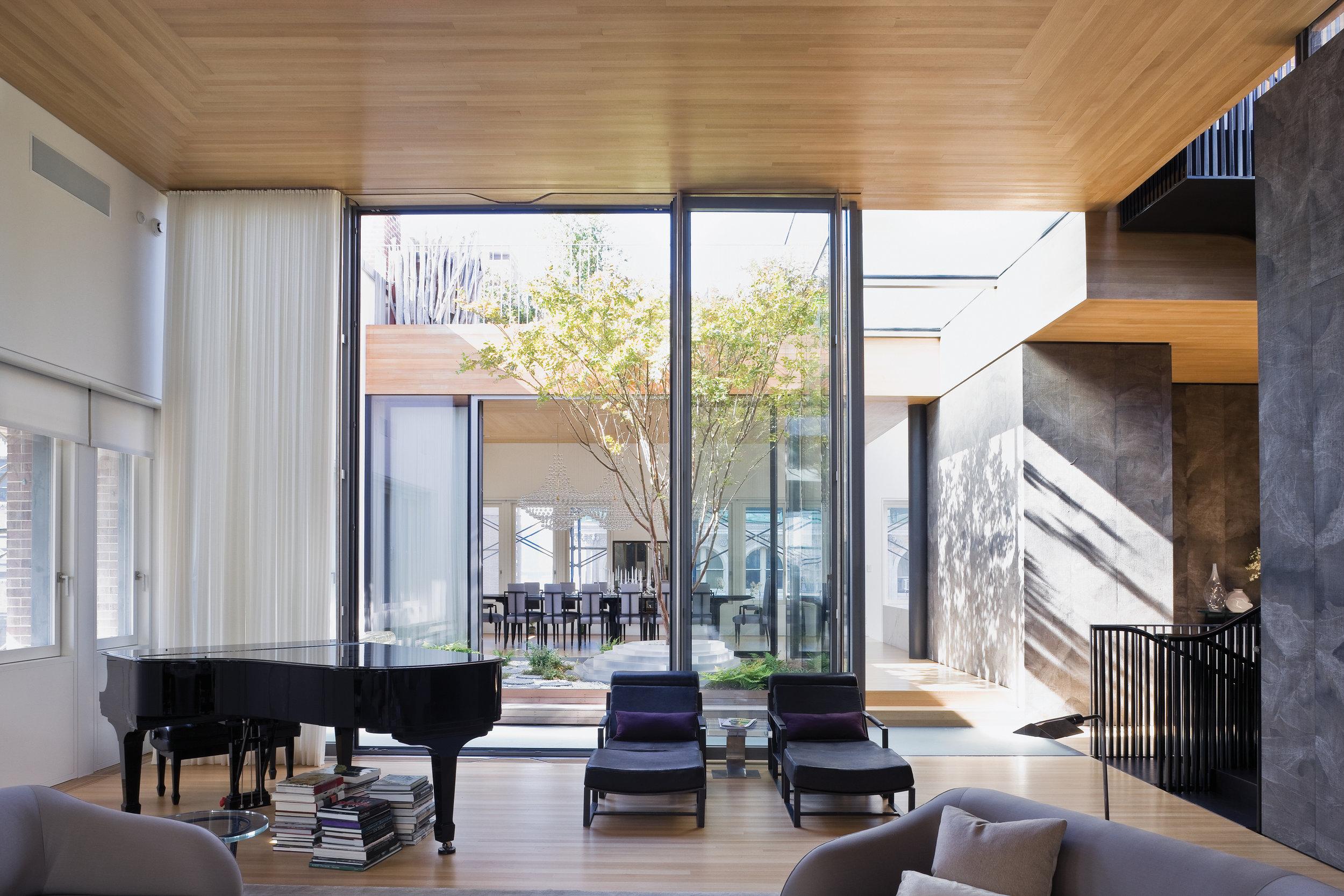 Hudson St. Residence (2009)   Tribeca, New York
