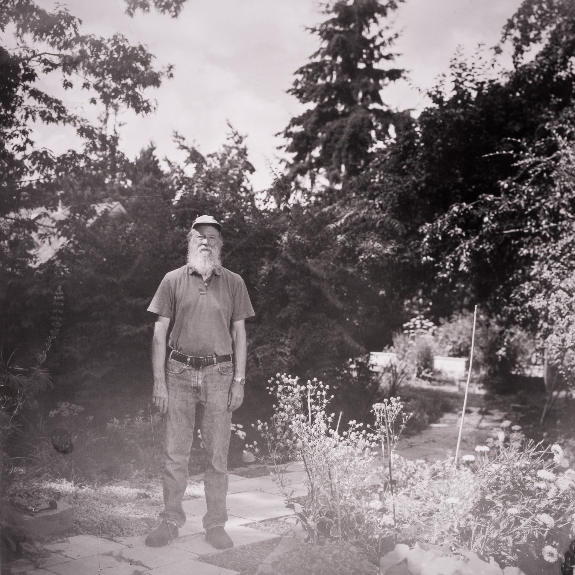 Portrait of Oregon-based woodturner Bill Moore. Photo ©2018 Stephen Takacs