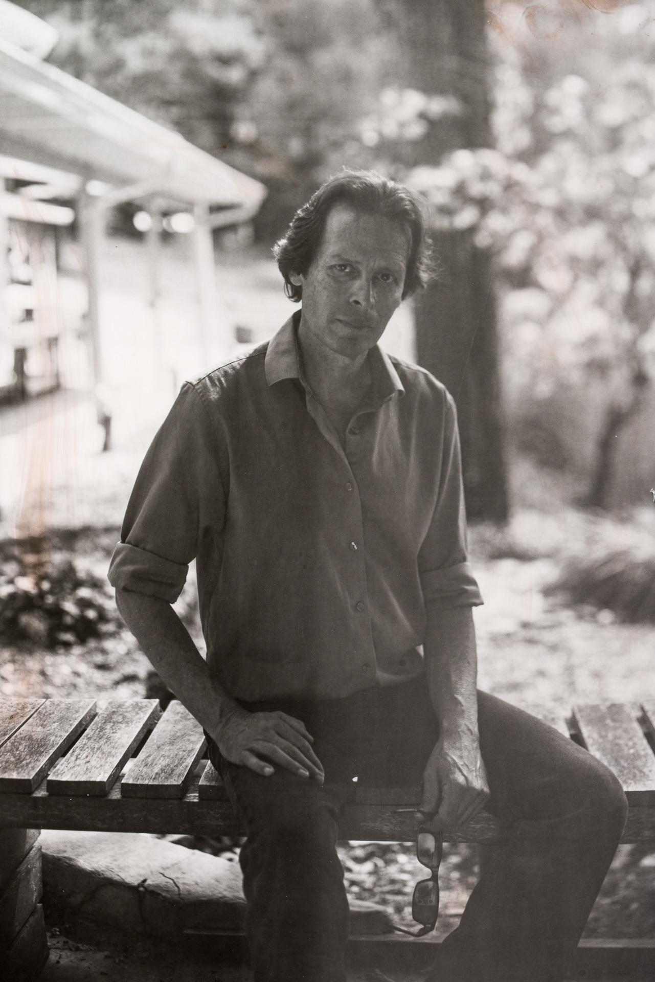 Portrait of daguerreotypist / photographic artist Jerry Spagnoli at Penland School of Craft in Asheville, North Carolina. Photo ©2015 Stephen Takacs