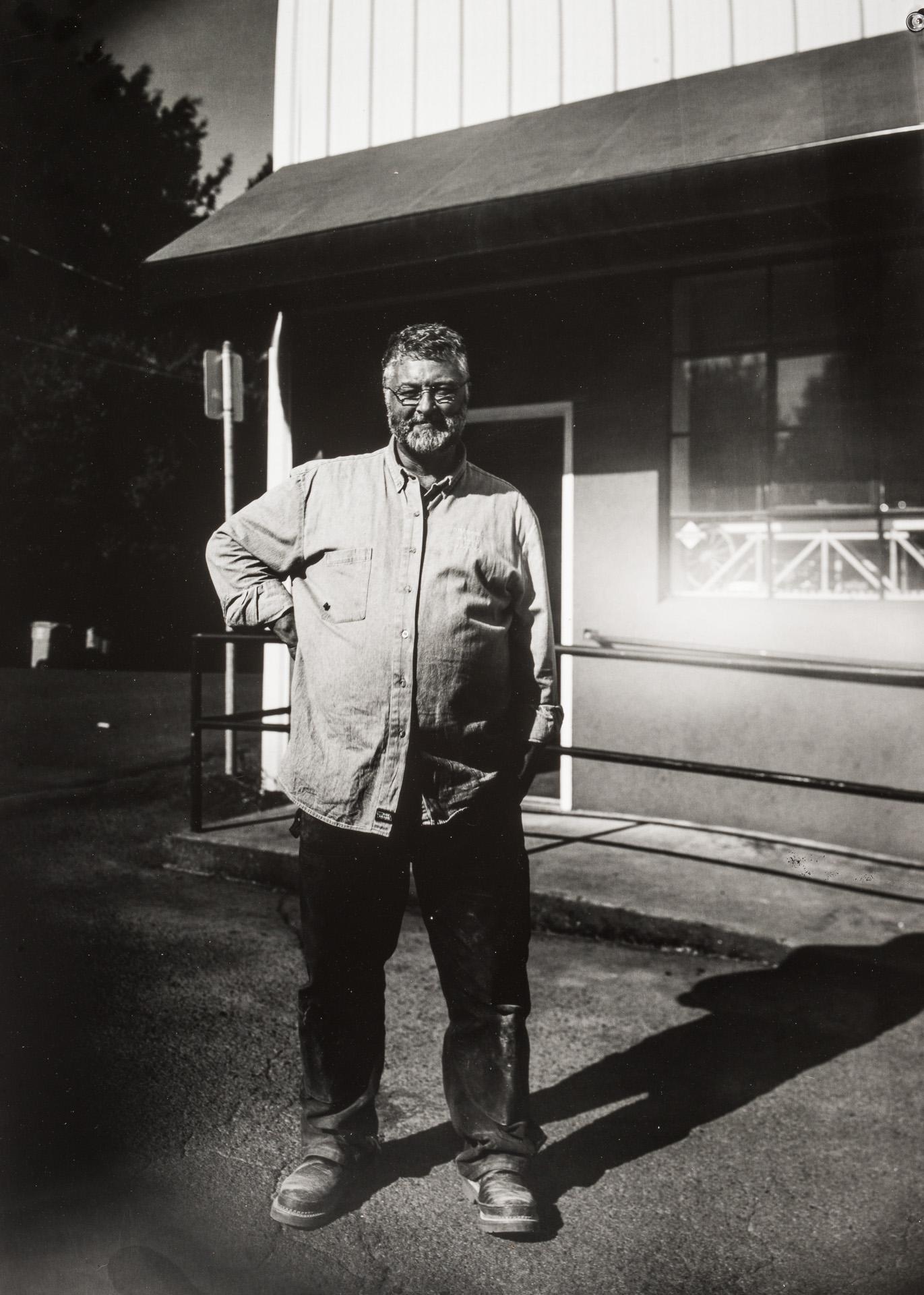 Portland Oregon based wagon maker and craftsman Rob Lewis. Photo ©2018 Stephen Takacs Photography