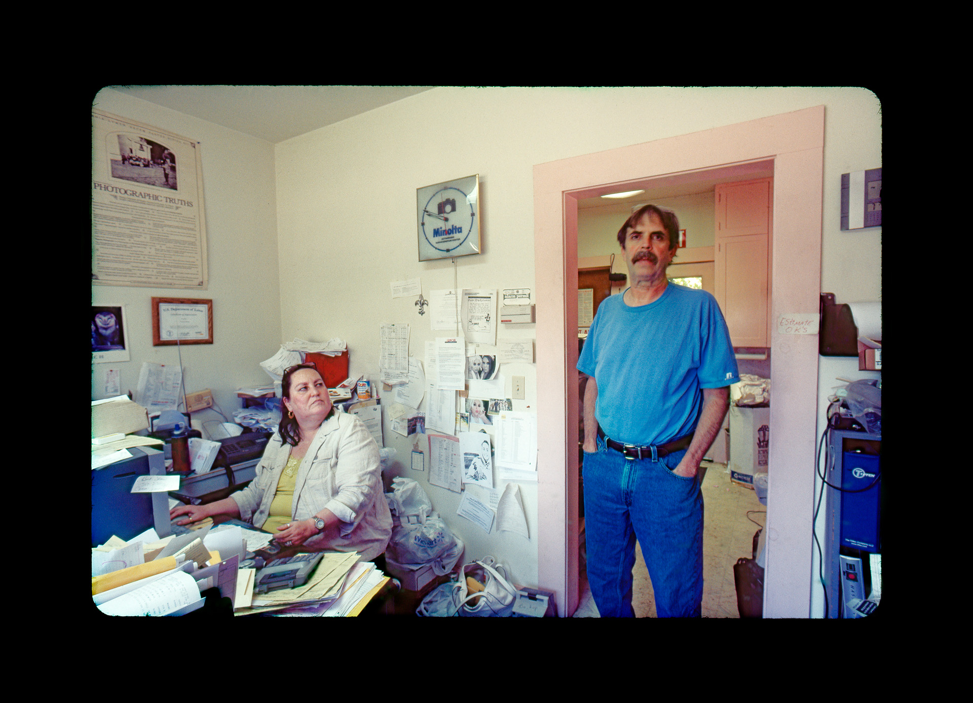 Teresa and Paul owners of Associated Camera Repair. Photo ©2010 Stephen Takacs