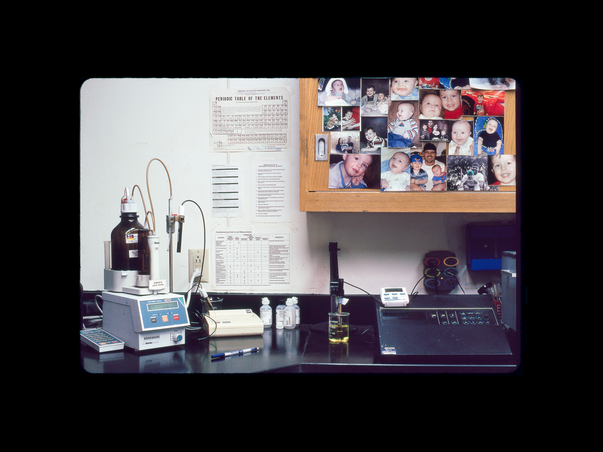 The Kodachrome chemistry lab at Dwayne's Photo in Parsons, Kansas. Photo ©2010 Stephen Takacs