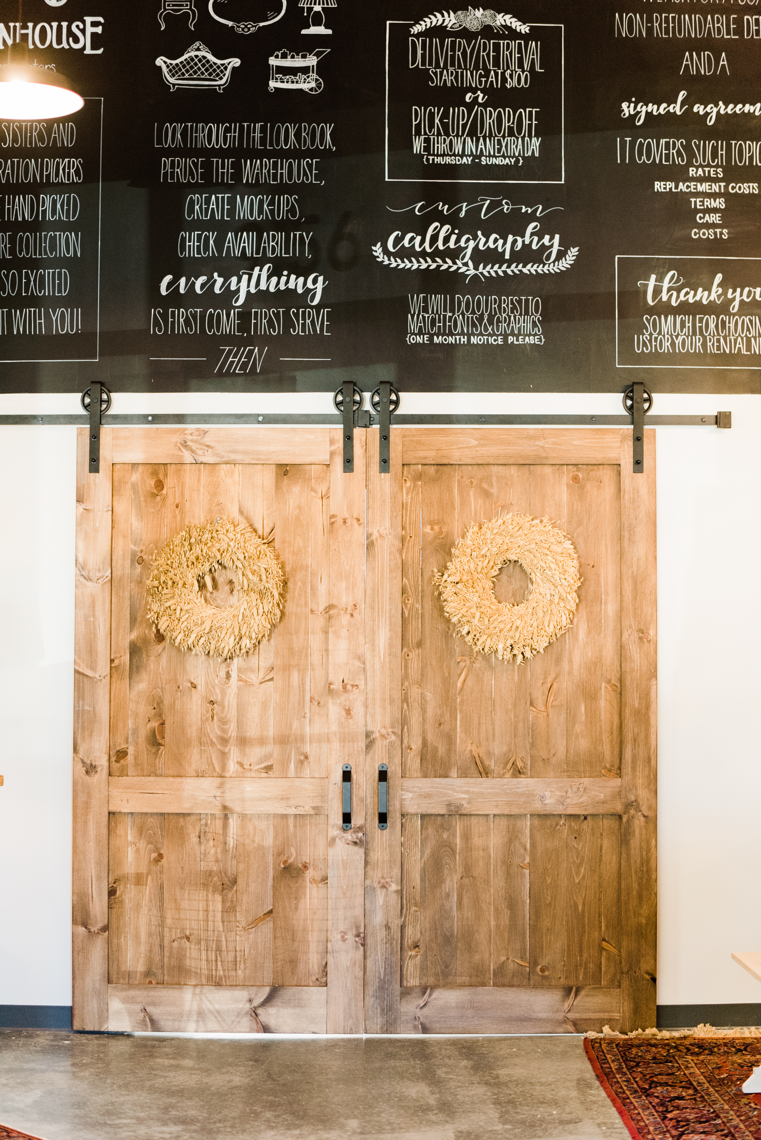 Venues with Chalkboards - The Cotton RoomThe RickhouseThe CookeryThe Stockroom