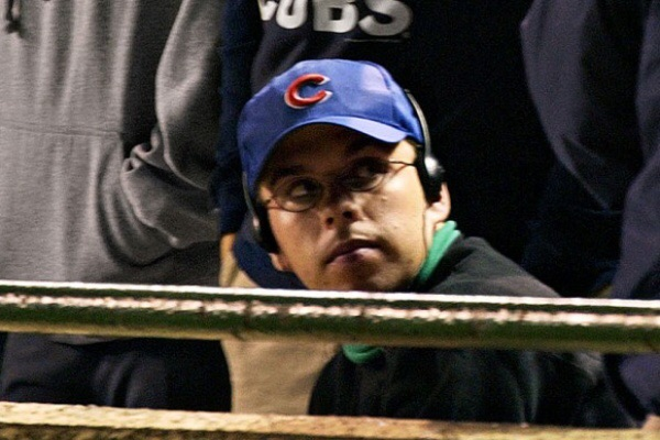 Chicago's favorite son, Steve Bartman.