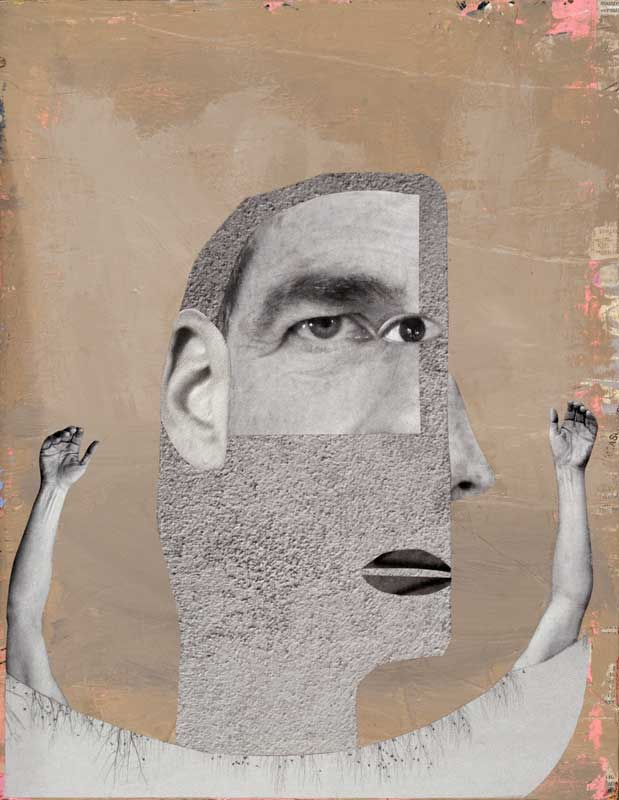Gray Man , 2013, 14.5 x 11.5 inches
