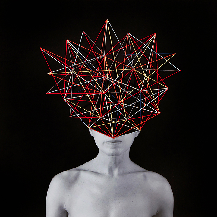 Connections , 2016, 35 x35 inches
