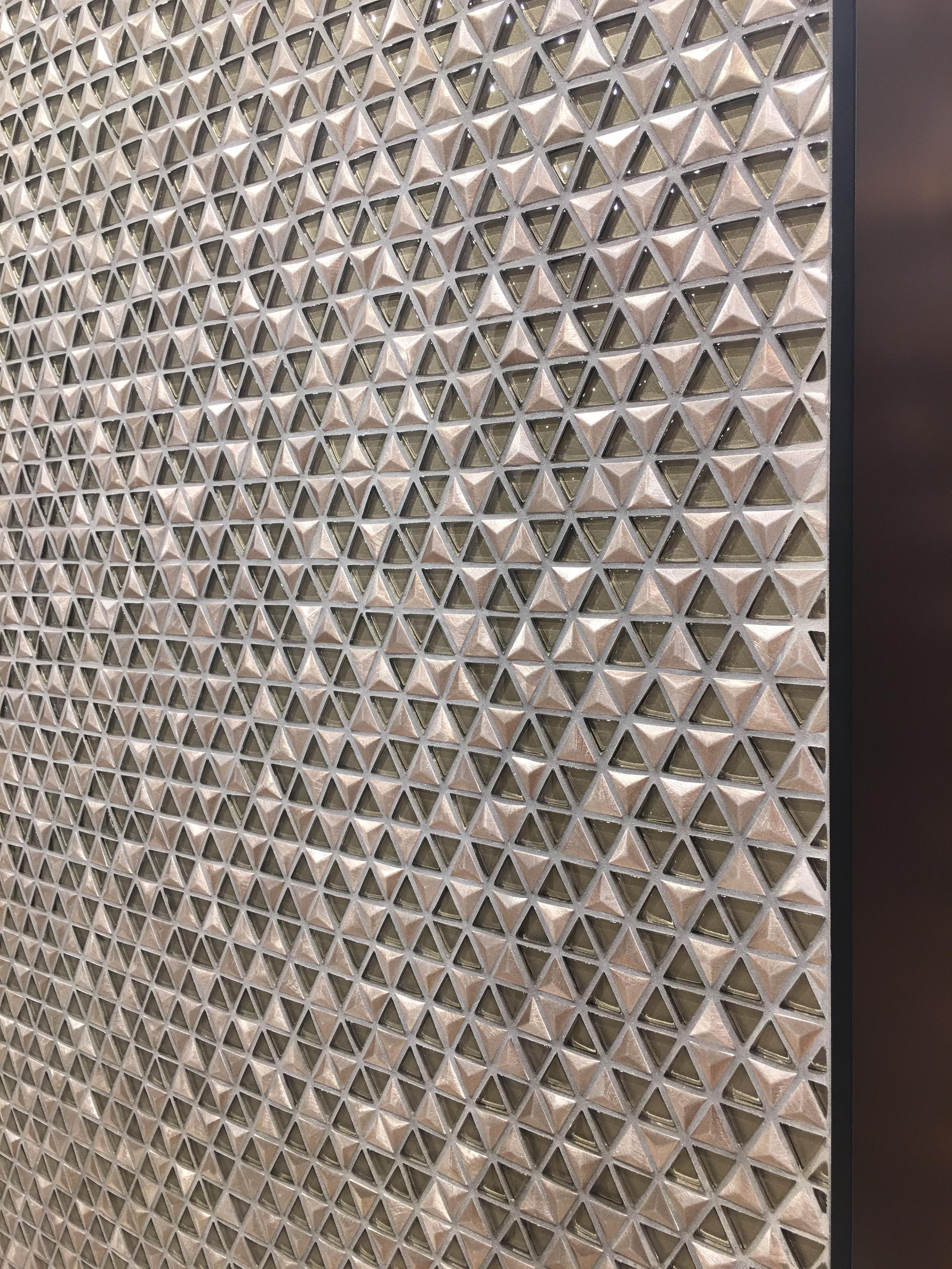Lovely pyramid mosaic sheets