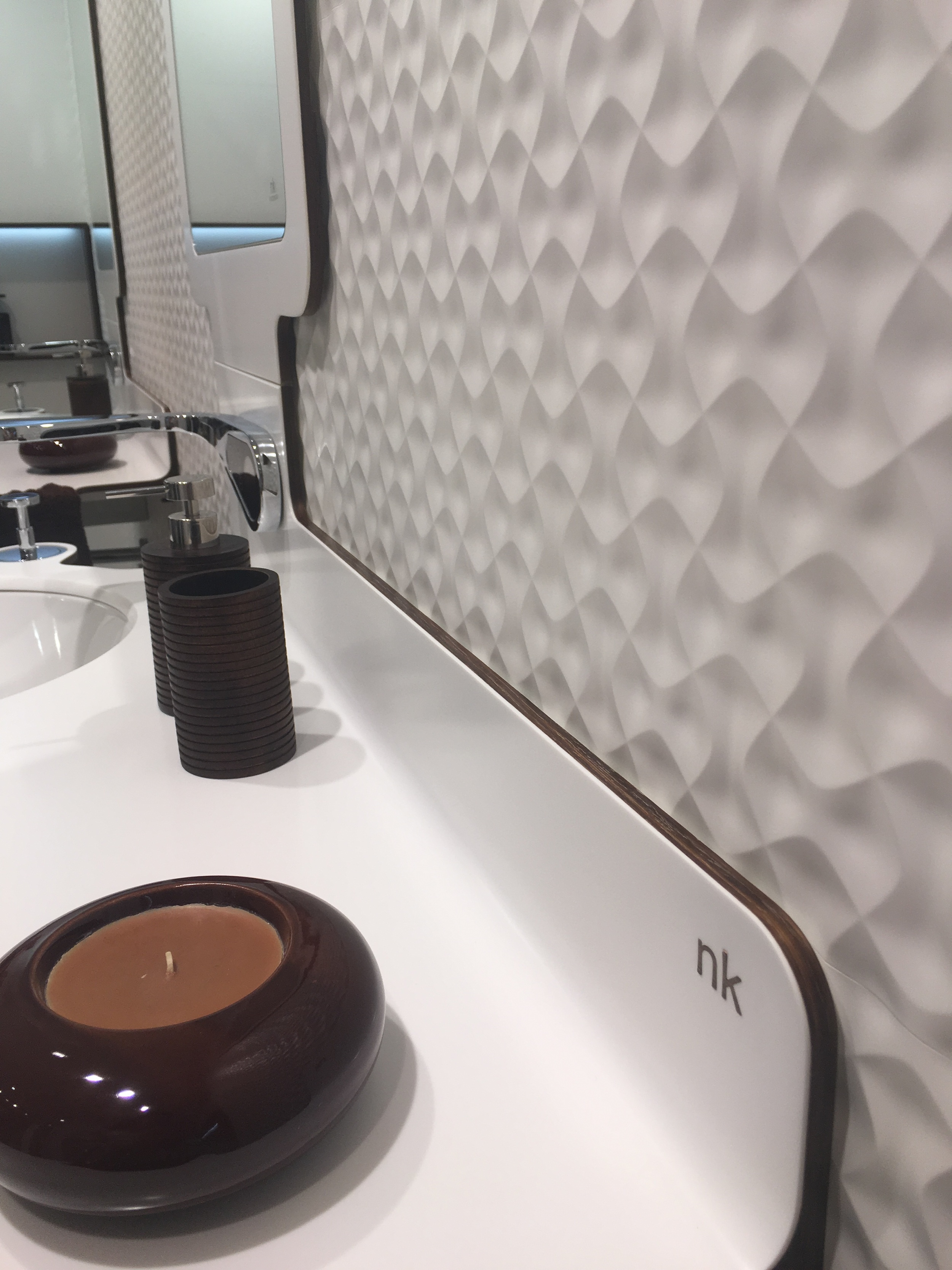 Noken tiles and Krion sink