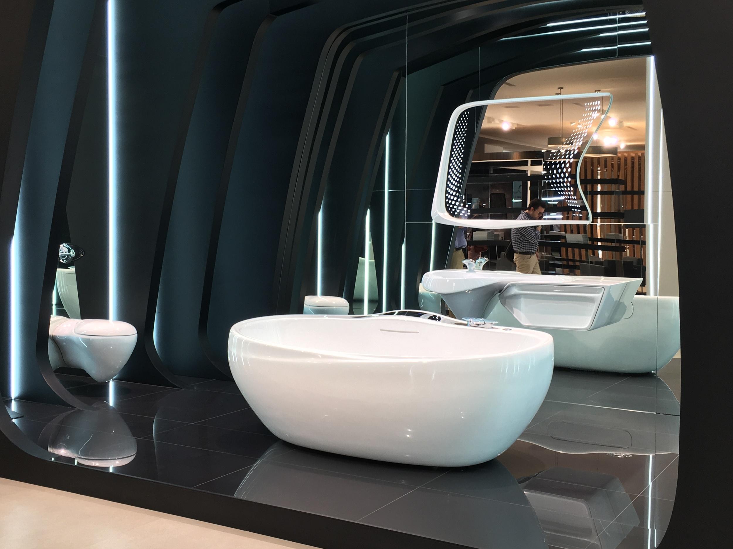 Zaha Hadid Bathroom Suite