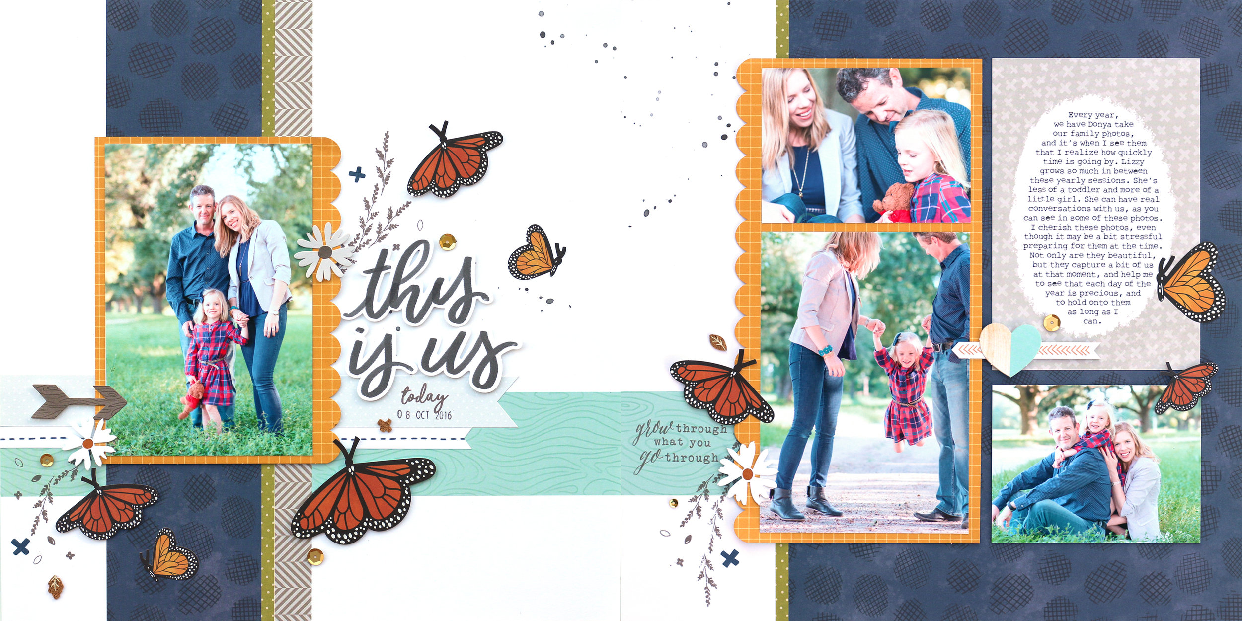 Close To My Heart S Craft With Heart October Kit This Is Us