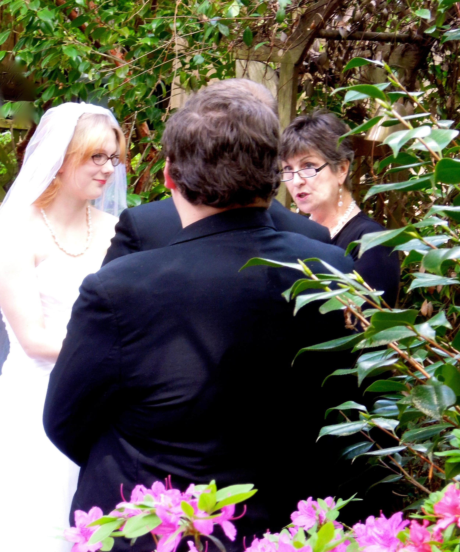Wedding in Kayelily's Garden