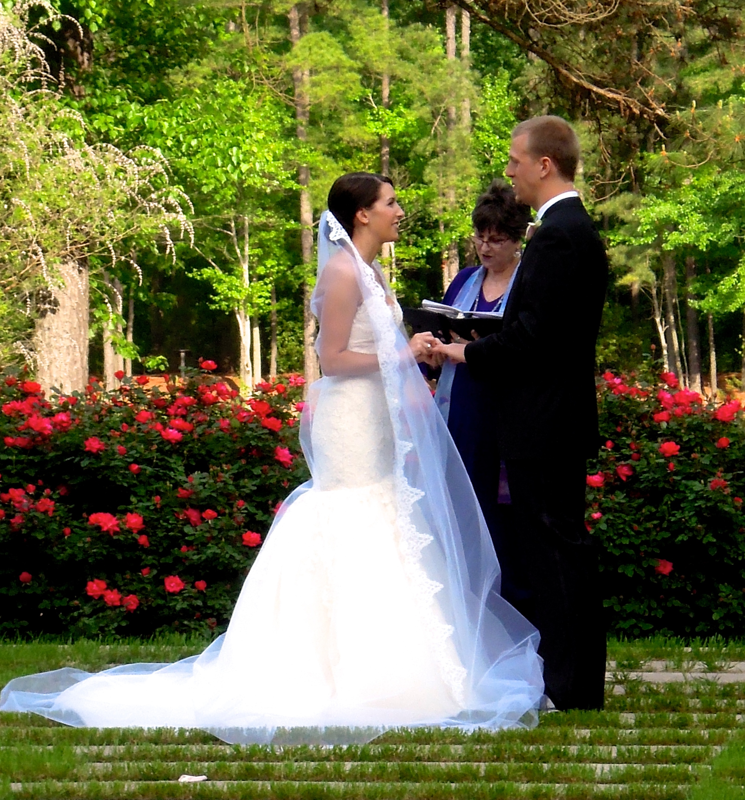 The Umstead Hotel and Spa Wedding in the Courtyard, Cary NC