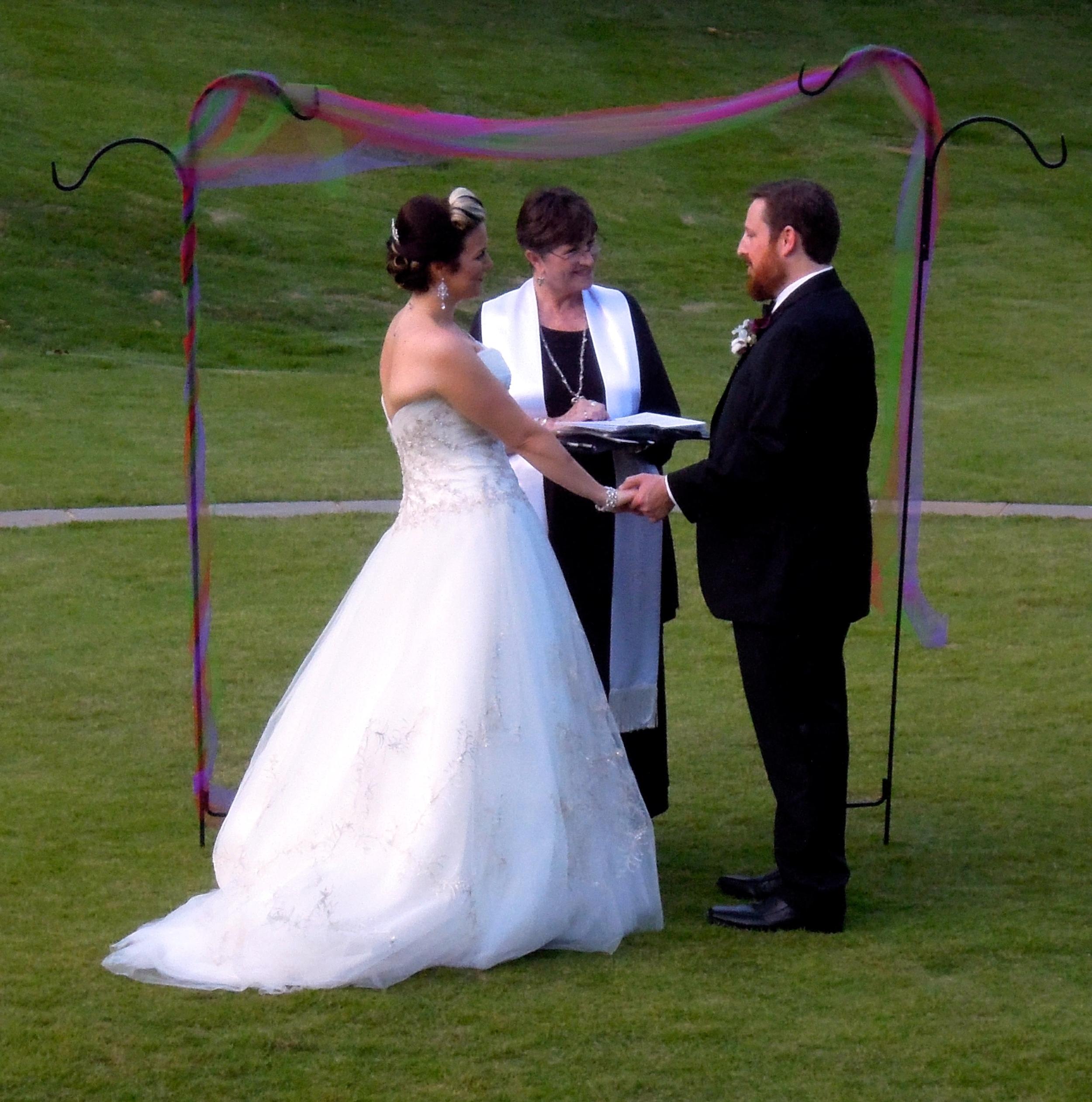 Fletcher Park Wedding in the Round, Raleigh NC