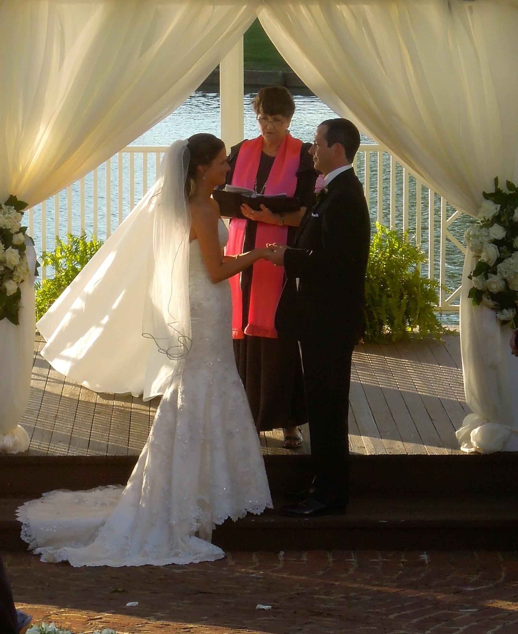 Wedding at the Gazebo on the Lake