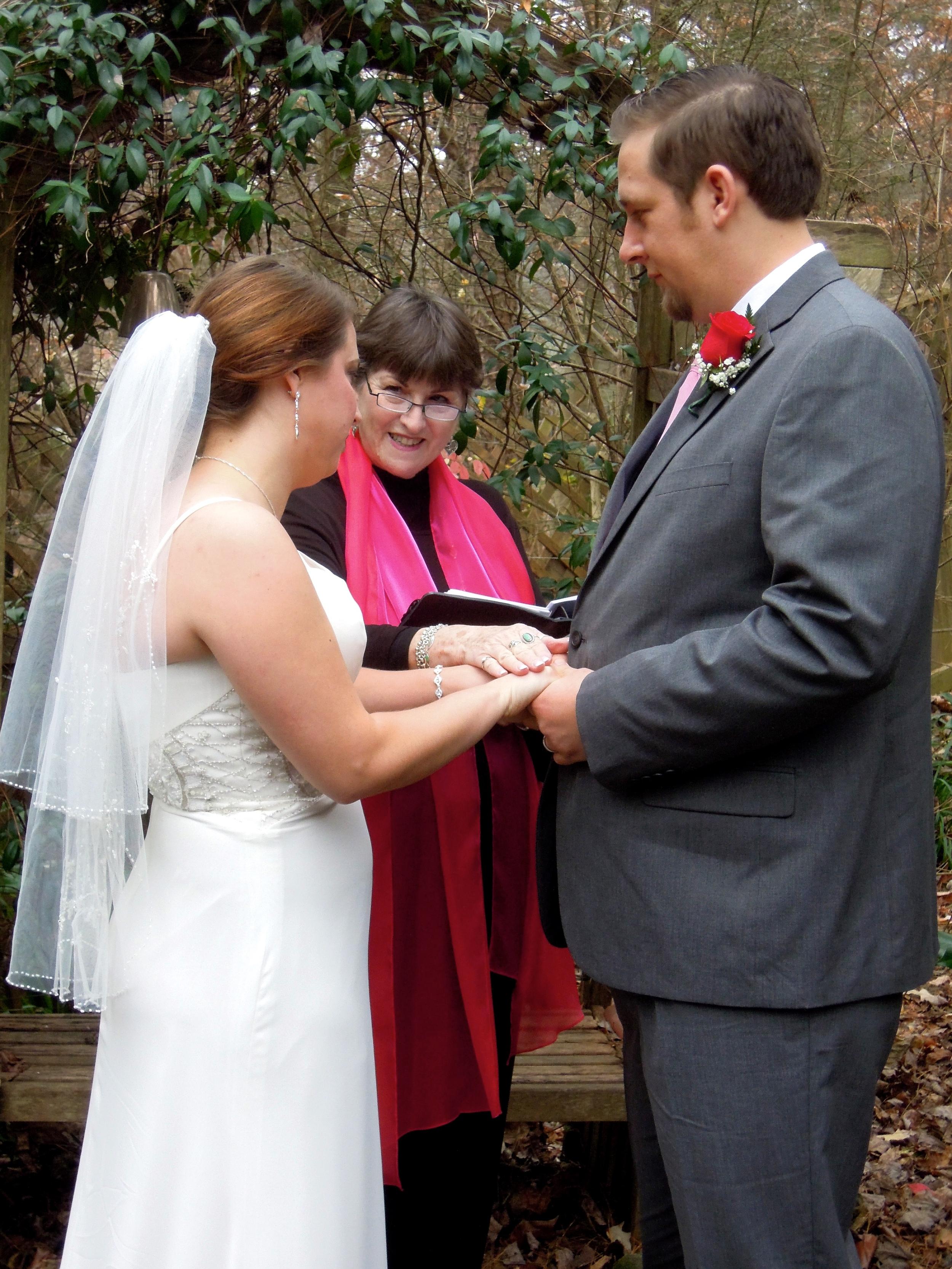 Amanda and Ryan Tie the Knot