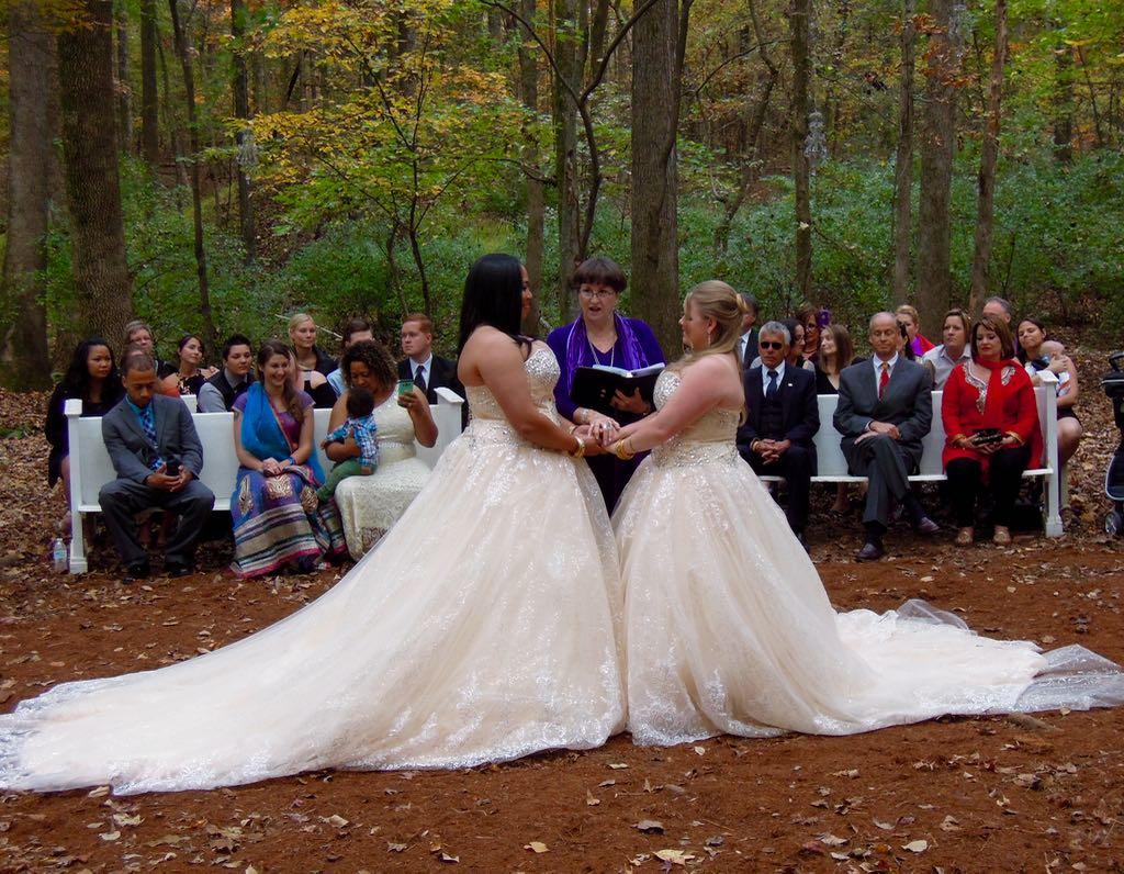 Tenita and Christina's Enchanted Wedding