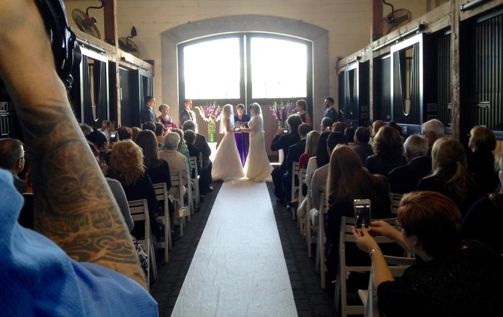 Melissa and Terri's Wedding at Portofino