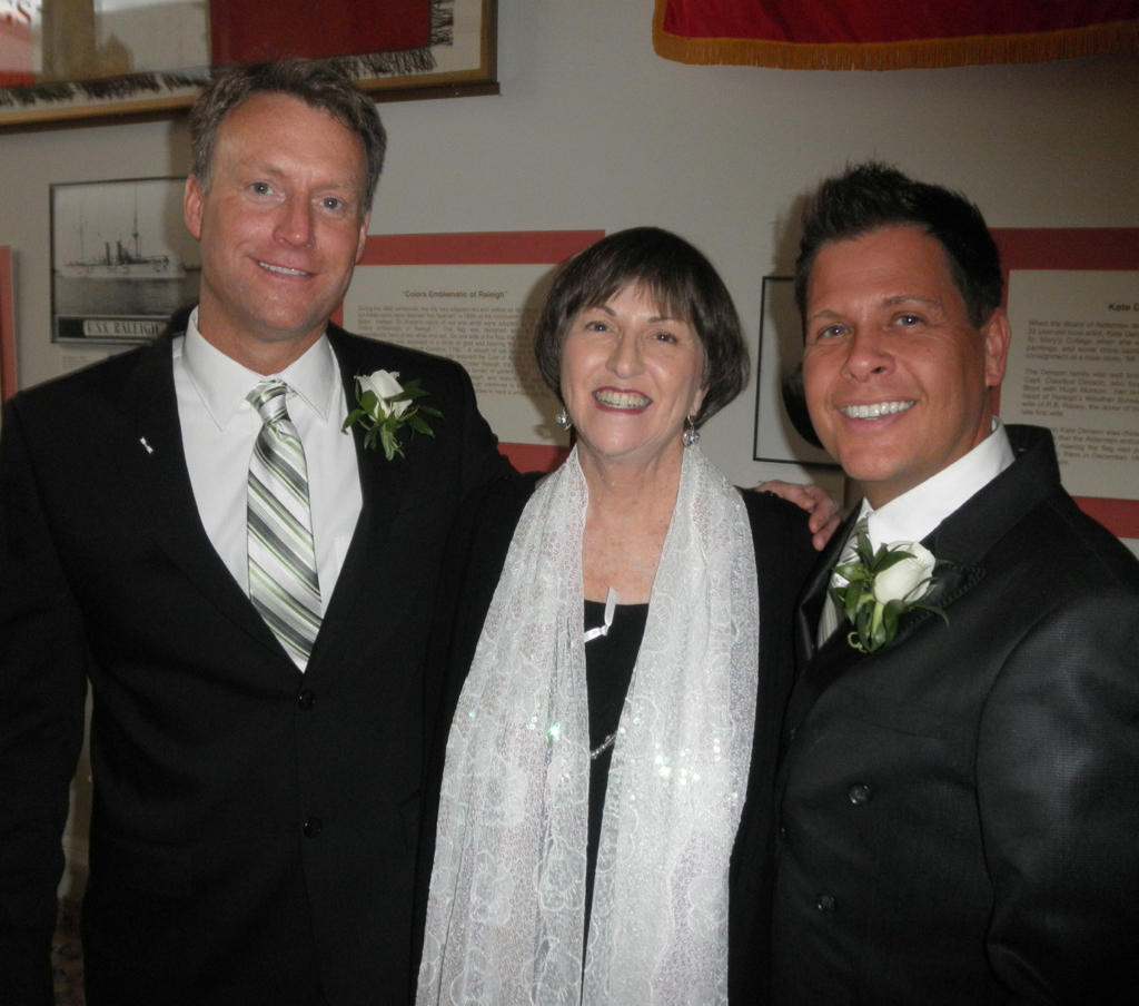 When the law changed, Mark and John hopped right down to the courthouse and made their marriage legal!