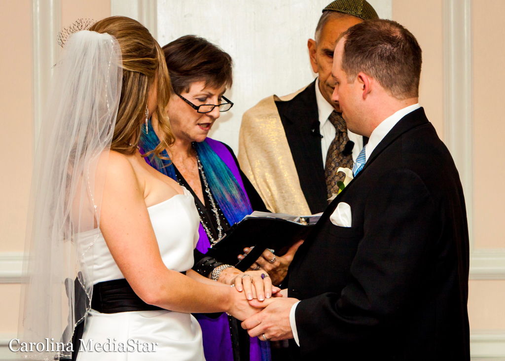 The pronouncement of marriage!
