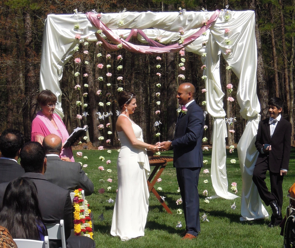 Hindu Christian Wedding