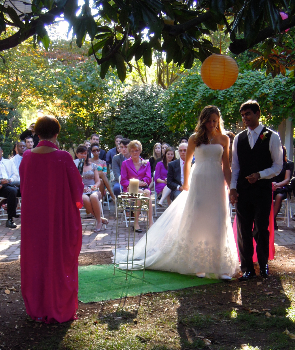 Hindu Christian Interfaith Wedding