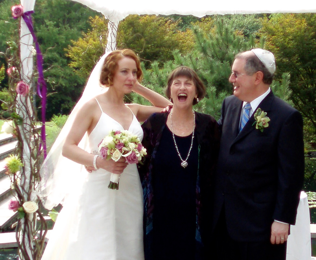 A good laugh after the Ceremony!