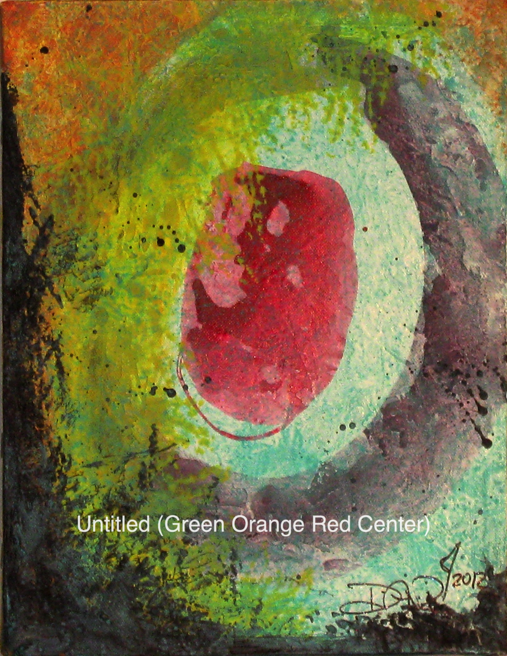 Untitled (Green Orange Red Center).jpg