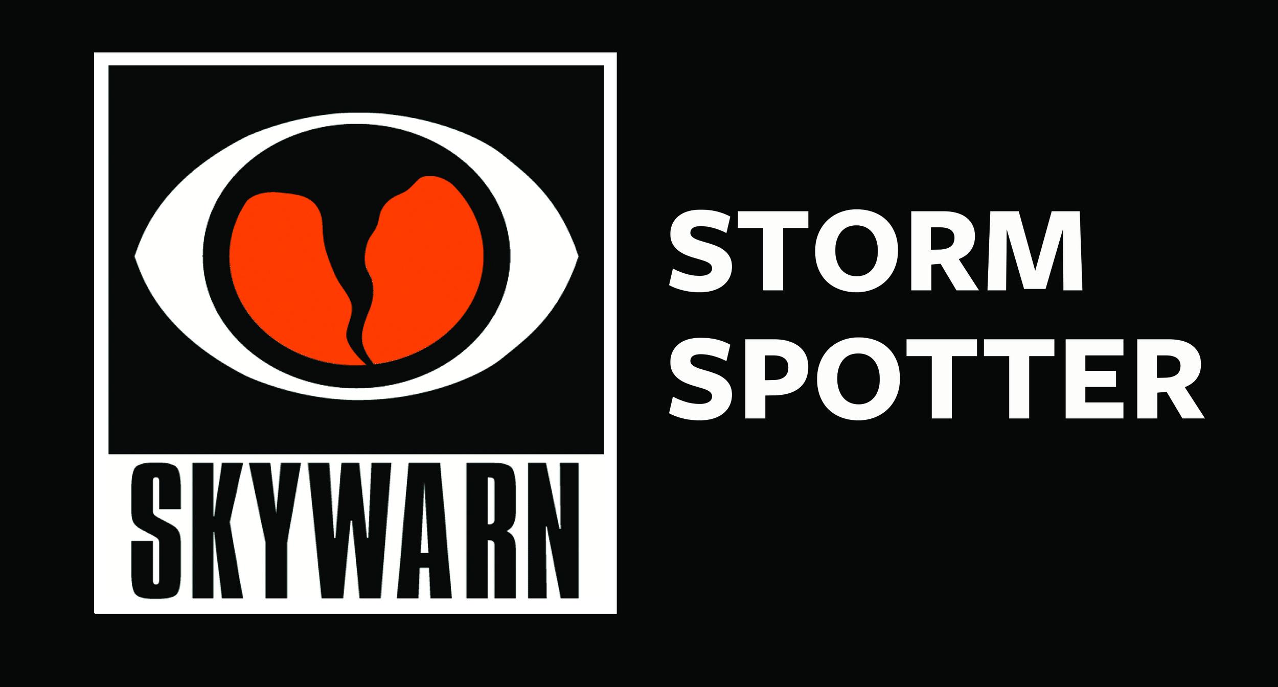 Certified SKYWARN Storm Spotter. Learn more at  www.skywarn.org
