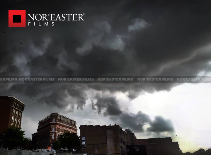 Storm Season is Coming: Severe storm over Troy, New York