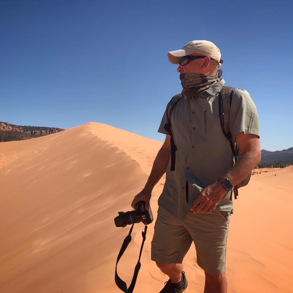 On-location in the desert of Southwestern Utah.