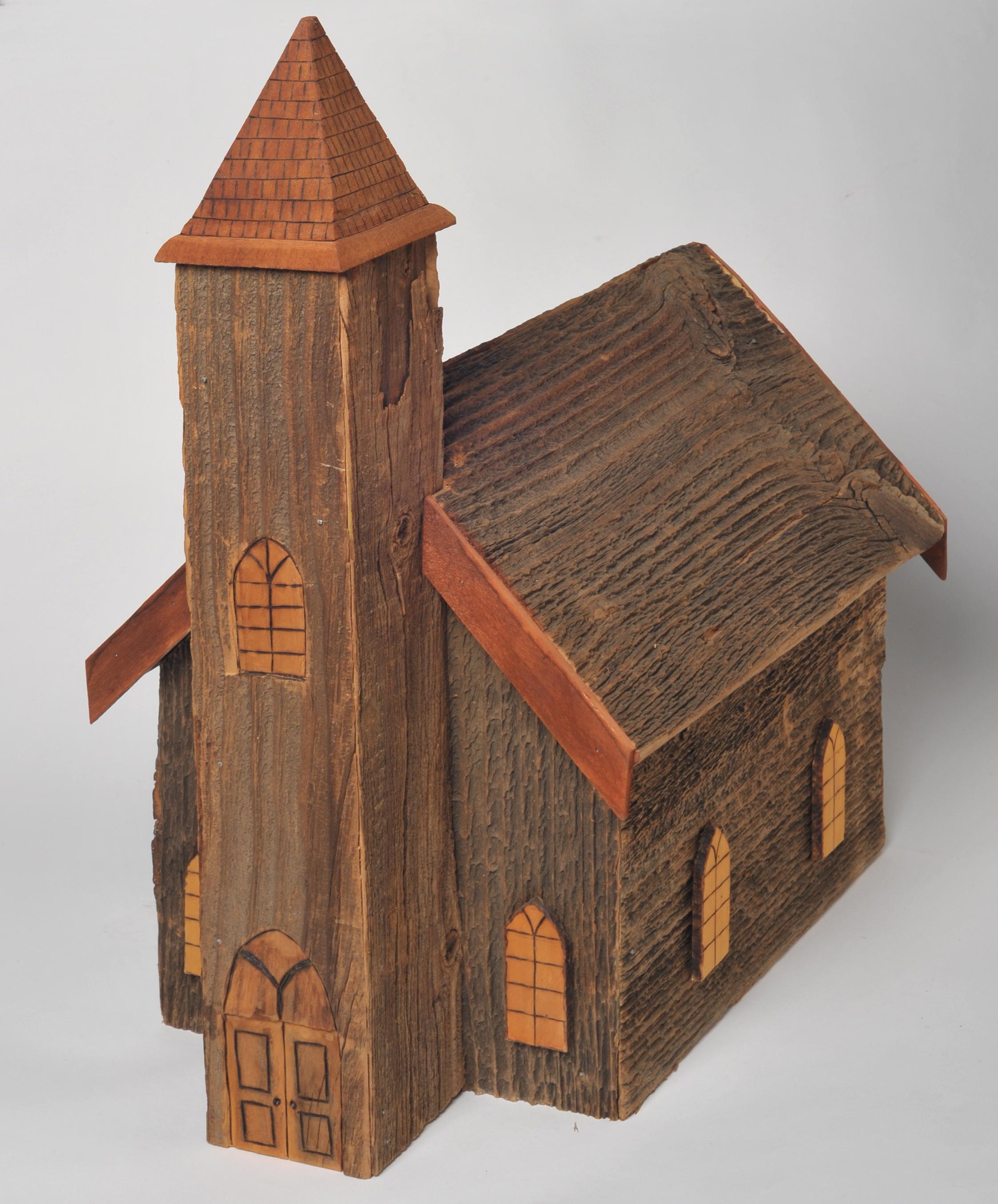 Cape Breton Church Birdhouse