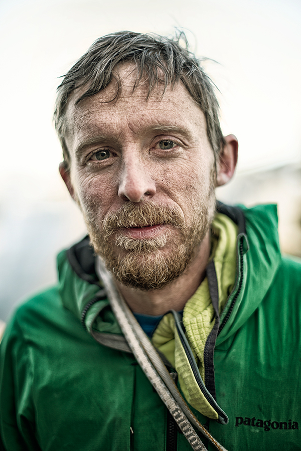 Tommy After 19 Days On El Cap    Photo Credit: Bligh Gillies    -  Aurora Photos