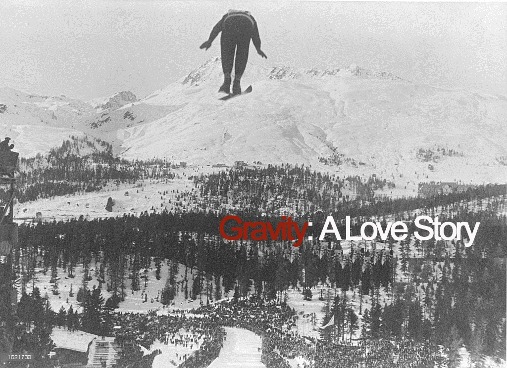 Gravity: A Love Story   (1M)  A lecture on the nature of gravity unravels as a man recalls the loss of his wife in a skiing accident.