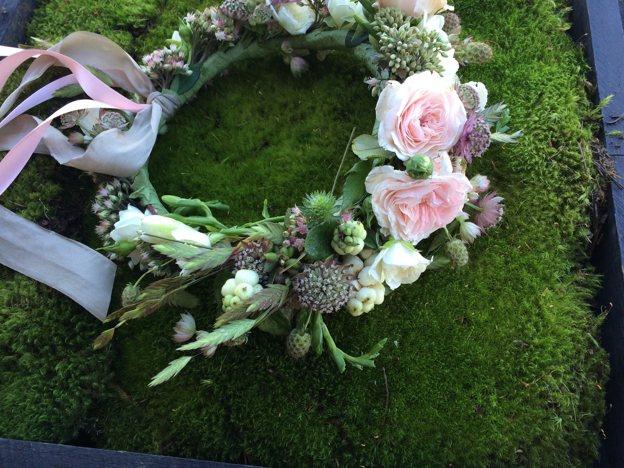 Heirloom Floral Design - Bend Oregon - Wedding - flowers to wear-headwreath.jpg