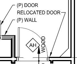 Proposed walls are shown with a dark hatch pattern.