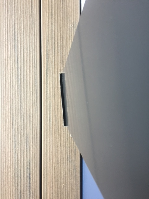 Misaligned column wrap